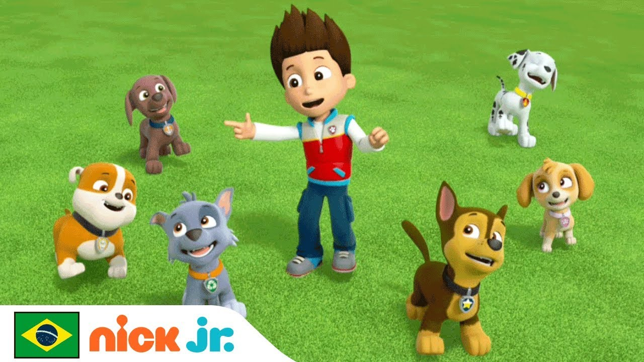 Patrulha Canina Musica Da Amizade Nick Jr Brazil