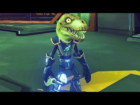 Ratchet & Clank #17: Cabeça Dinossauro - PS4 gameplay