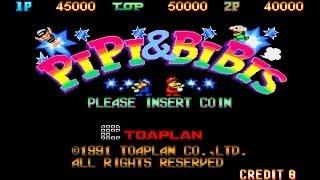 Pipi & Bibis / Whoopee 1991 Toaplan Mame Retro Arcade Games