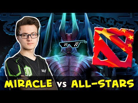 Miracle vs Chinese Star Team — solo MMR