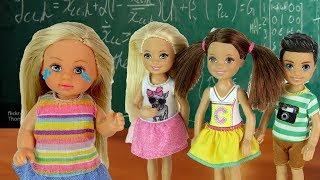 ТЫ МНЕ БОЛЬШЕ НЕ ПОДРУГА! Мультик #Барби Школа Куклы Игрушки для девочек