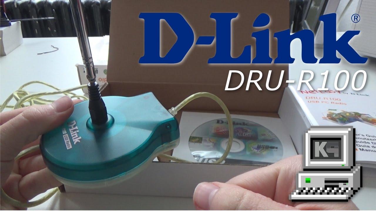 D-LINK DRU-R100 USB RADIO TREIBER HERUNTERLADEN