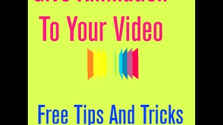 Animation : How To Make Animated Videos On Your Computer (Hindi/Urdu)