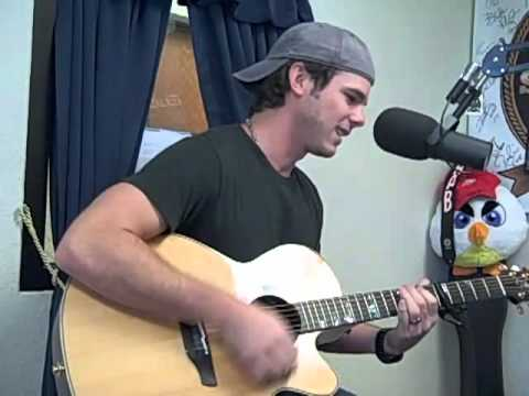 """The World Radio Premiere of the """"Country Boy Song"""" on the Shooter Acoustic Stage"""