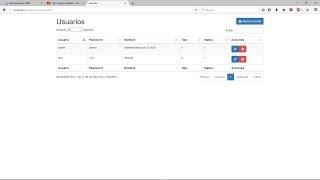 DataTables + PHP + JQuery + Ajax + Bootstrap + MySQL (Actualizado)