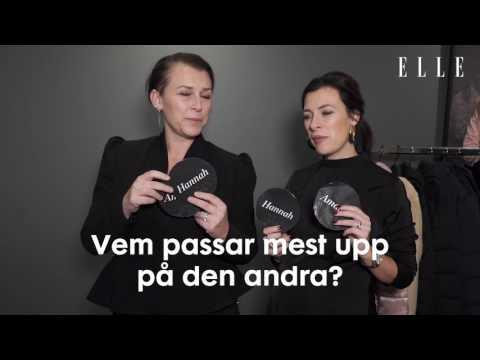 Hannah och Amanda svarar