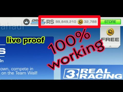 Real racing 3 hack with Proof 100% working | 2019
