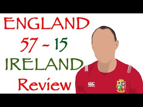 ENGLAND 57 - 15 IRELAND | REVIEW | Rugby World Cup 2019 Warm Ups