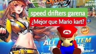 Garena Speed Drifters ¿Mejor que  MARIO KART para ANDROID? descarga
