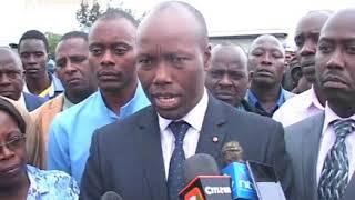 Lee Kinyanjui kuheana mukaana wa kumomora miako iria yakitwo iguru ria mitaro ya maai Naivasha