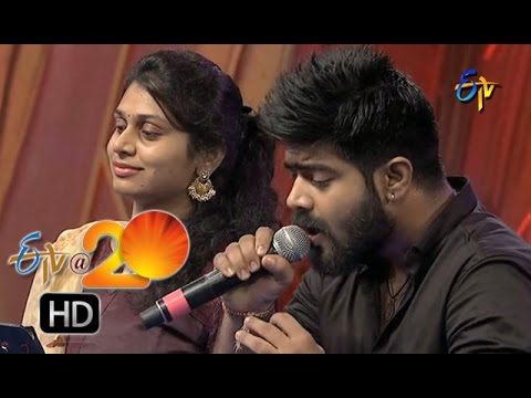 Revanth,Mohana Performance - Jatha Kalise Song in Chilakaluripet ETV @ 20 Celebrations