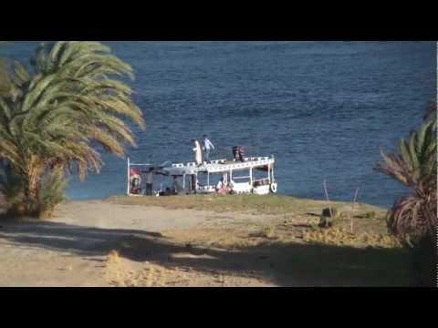 Boats on the Nile River near Aswan - Egyptиз YouTube · Длительность: 2 мин25 с
