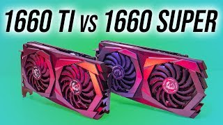 GTX 1660 Super vs GTX 1660 Ti - Graphics Card Comparison