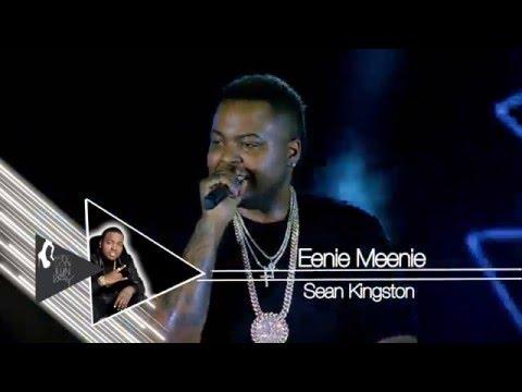 Sean Kingston - Eenie Meenie [ Live ] @ Yangon Runway Girls Collection