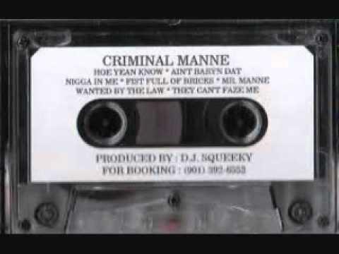Criminal Manne - Mr. Manne