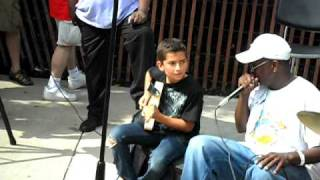 2010 Chicago Blues Festival - Young Prodigy Ray Goren.