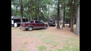 Crown Point Camping Aŗea near Springfield, VT
