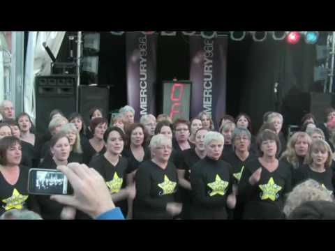 Jessica Chivers with Rock Choir