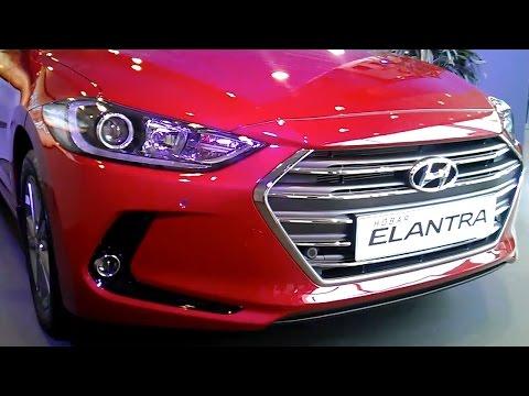 Hyundai Elantra 2016. Презентация в Москве