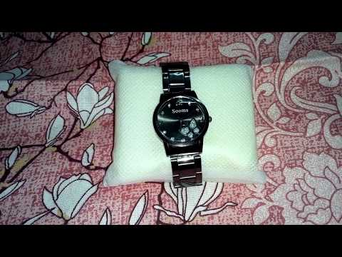 Black Chain Watch/ Watches /low Price Watch/ Trendy Watches.