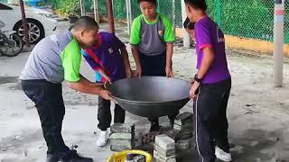 Program Memasak Bubur Asyura - bersama murid tahun 6, 2018..