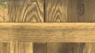 Oakdale Solid Oak Tall Bookcase From Oak Furniture Land