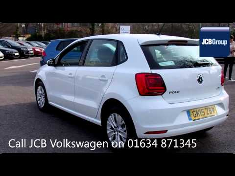 2015 volkswagen polo se 1l pure white metallic gk15zbw for. Black Bedroom Furniture Sets. Home Design Ideas