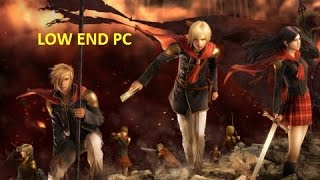 Final Fantasy Type-0 HD - PC Gameplay [ 2GB RAM ] [ WINDOWS 10 ] [ LOW END PC ]