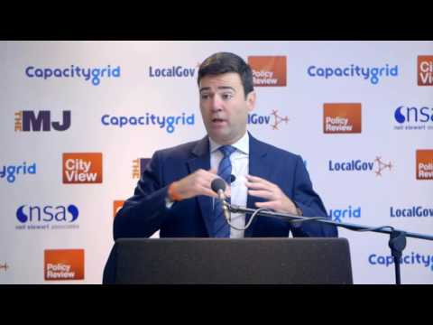 Andy Burnham MP - 'Powering the North'