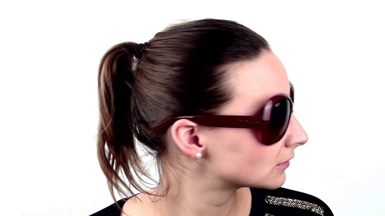 a105a844d3d0e3 Ray-Ban RB4098 Jackie Ohh II 6010 13 Sunglasses - VisionDirect Reviews -  YouTube