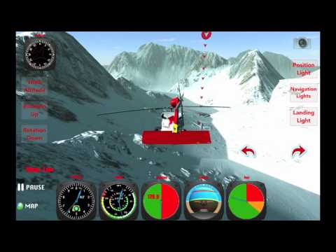 X Helicopter iOS & Android Gameplay from Gamecorestudio