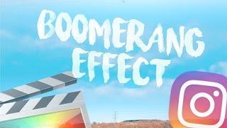 Instagram Boomerang Effect - Final Cut Pro X