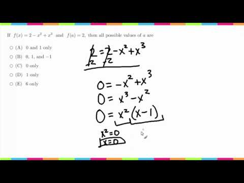 MDTP Mathematical Analysis Readiness Test (MA): Solution to #39