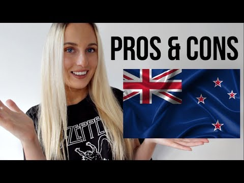 pros and cons of living in new zealand!