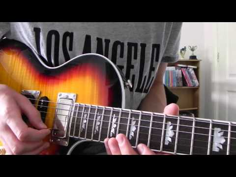 How to play - Black Veil Brides - In The End - Solo