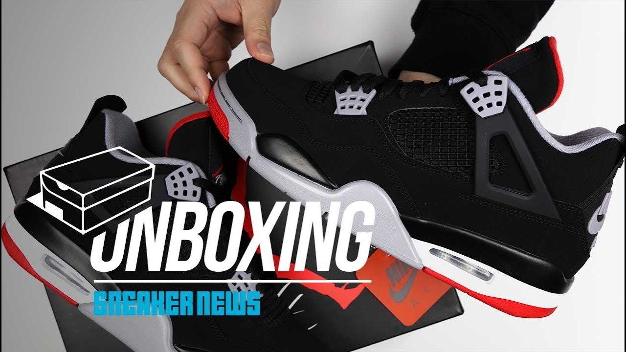 detailed look 48c5f a4d0b Did you cop? Unboxing the Air Jordan 4