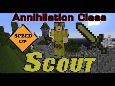 Minecraft Annihilation Class - Scout
