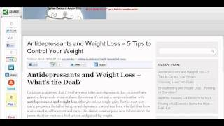Antidepressants and Weight Loss - 5 Proven Tips **