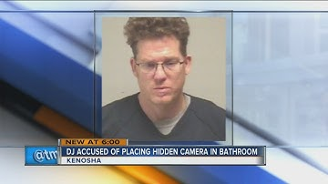 DJ accused of putting hidden camera in bathroom