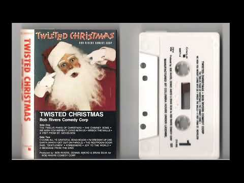 Twisted Christmas Cassette Tape