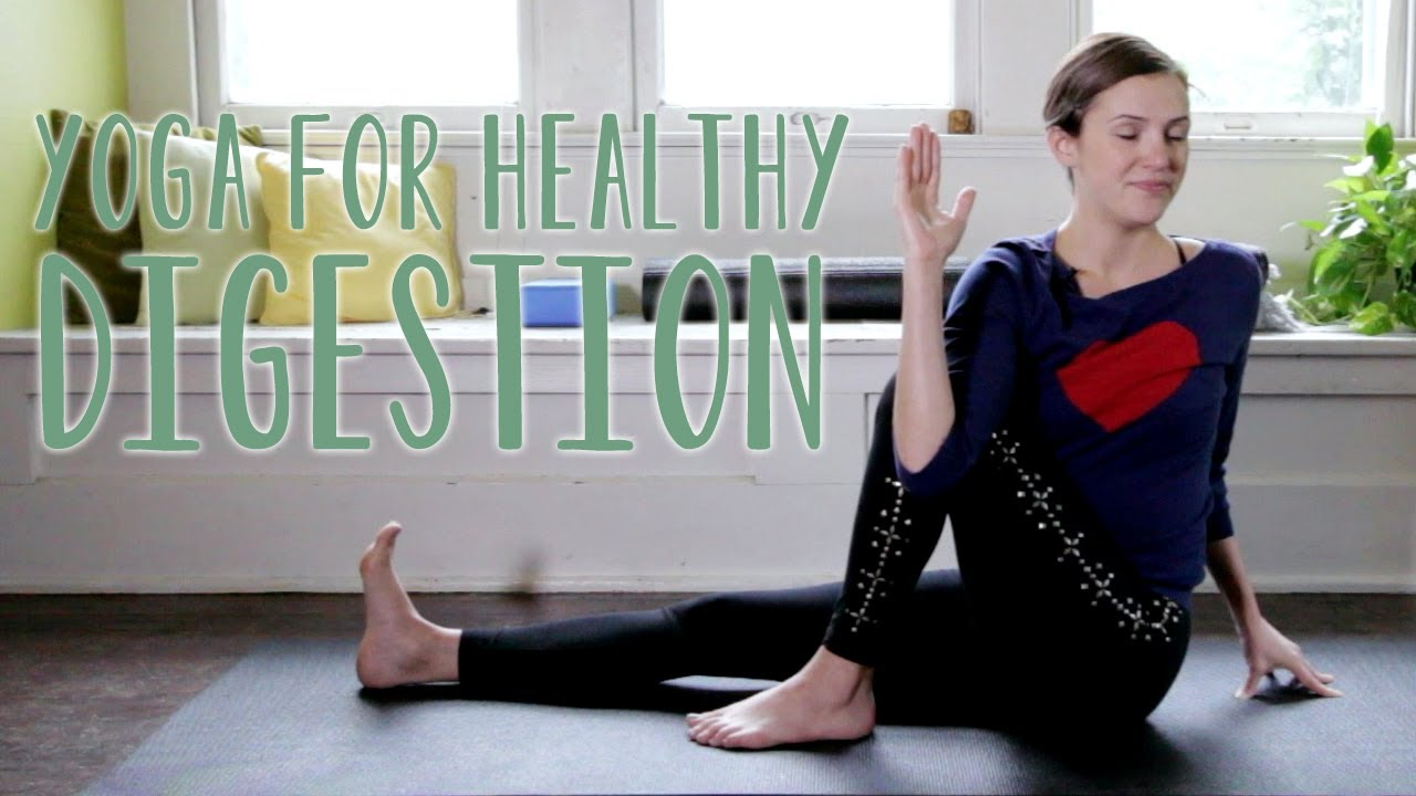 Yoga For Digestion With Adriene