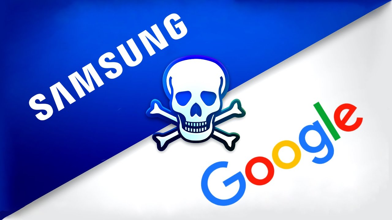 Samsung and Google are at War.