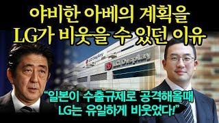 아베를 무릎꿇린 진정한 한국의 기업 LG가 한 일, 수출규제에도 끄떡없던 이유