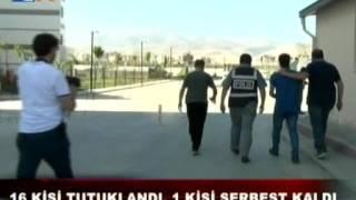 Ereğli'de 16 Kişi Tutuklandı