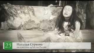Наталья Суркова — 25-летний юбилей службы в Молодёжном театре на Фонтанке