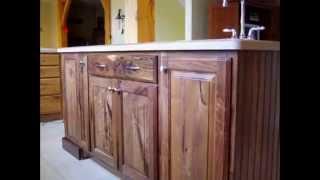 Tủ Bếp Gỗ Óc Chó (walnut Wood Kitchen Cabinets) - 9 Hoangphucwood 0982299292