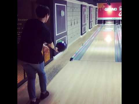 [Bowling] 털어치기, 연습, 공끌고가기, 공뿌리기, 느낌이좋다!! 오늘 연습은 성공적!!