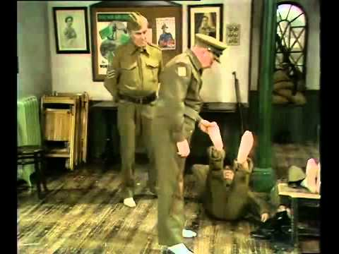 Dads army foot tickle