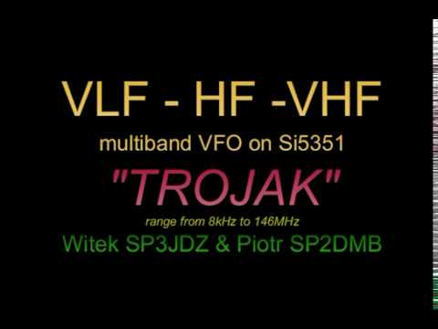 Multiband VFO on Si5351