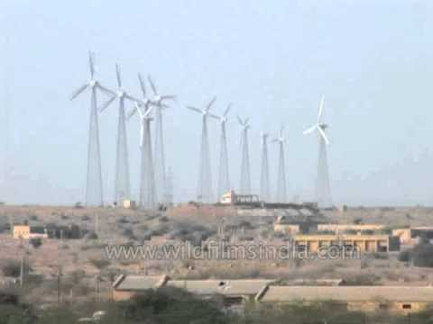 Wind power from the Indian desert, Jaisalmer